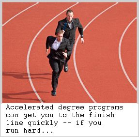keys to succeeding in an an accelerated online bachelor degree program