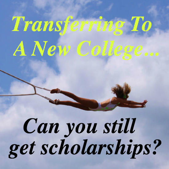 Getting scholarships as a transfer student